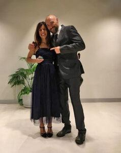 Cristina Rojas y Homero Rodríguez