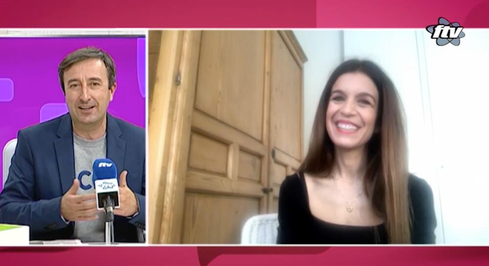 Cristina Rojas entrevista en FTV